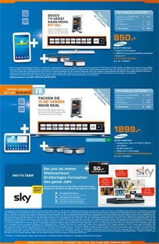 [Lokal Stuttgart] Samsung LED 3D TV UE40 F7090 inlk. Samsung Galaxy Tab 3.0 (7 Zoll) WiFi 8GB