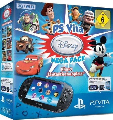 PS Vita WiFi/3G Disney Megapack 8GB Karte für MyToys Neukunden/ alle anderen 162,94€