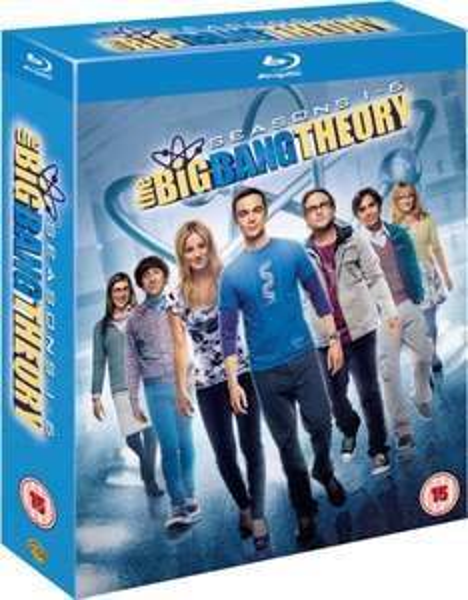 Blu-Ray - The Big Bang Theory Season 1-6 für 48,69 @zavvi