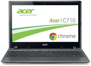 Acer C710 29,4 cm (11,6 Zoll) Chromebook WHD