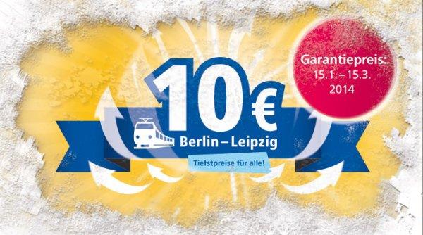 InterConnex Leipzig-Berlin 10€ Rostock-Leipzig 16€ Tiefstpreis für Alle!