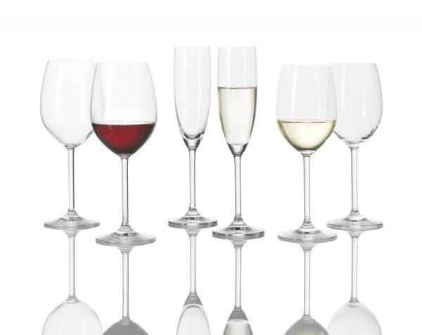[Amazon] Leonardo Norma Kelchgläser 18 teilig (6x Sekt, 6x Rotwein, 6x Weißwein) für 30€