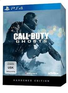 Call of Duty Ghost - Hardened Edition PS4 / PS3 / Xbox 360 @Saturn Super-Sunday (Nur Heute!)