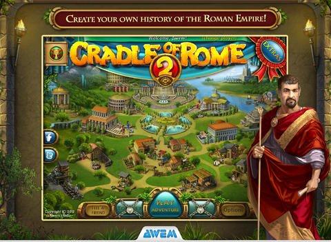 Cradle of Rome 2 HD für das iPad kostet jetzt nur 1,79 € statt 4,49 €