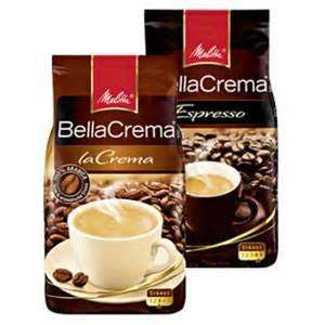 [Kaufland] Melitta Bella Crema, 3 versch.Sorten,1kg ganze Bohnen für 7,77€