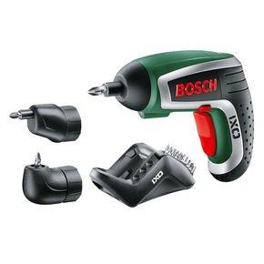 Nur bis Sonntag bei notebooksbilliger.de: Bosch IXO IV Set Grün Akkuschrauber inklusive Winkel- und Exzenteraufsatz für 52,89 Euro