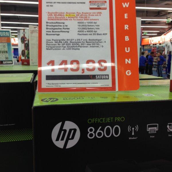 HP Officejet Pro 8600+ [Saturn, Berlin Europacenter]