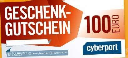 Cyberport 100 EUR Geschenkgutschein für 90 EUR ab 23.12. 9.00 Uhr 999 Stück verfügbar