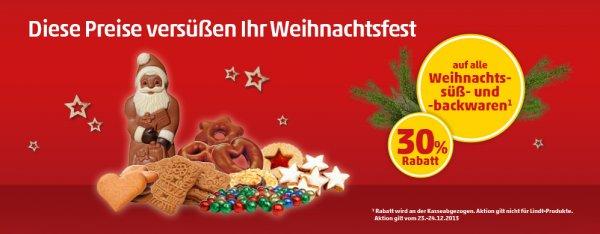 [Penny] -30% auf alle Weihnachtsschokoladen und -backwaren