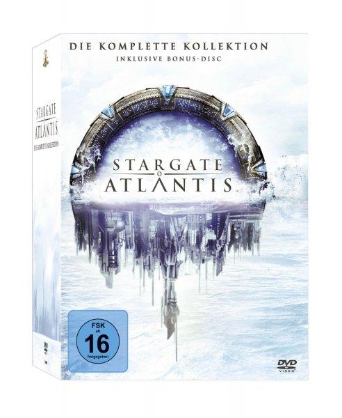 Stargate: Atlantis - Die komplette Kollektion (inkl. Bonus-Disc) [26 DVDs]  für 38,74 Euro bei Amazon.de