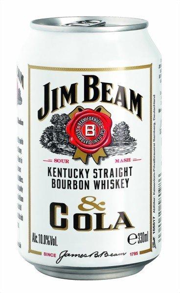 Jim Beam Cola/Jim Beam Lime Splash 0,33ml  Dose ab 27.12.13 im Penny bzw. schon ab heute