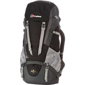 Berghaus Herren Rucksack Verden 65 + 10 AM in Black bei Amazon UK ab 75€
