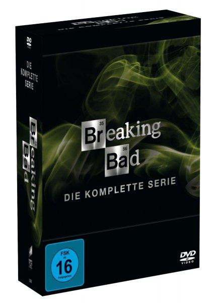 Breaking Bad: Alle Staffeln auf DVD für zusammen 89 EUR bei Amazon