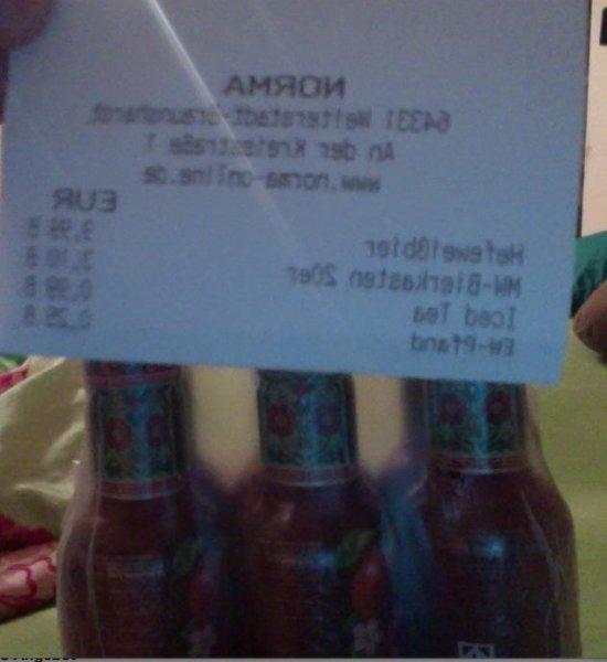 [Lokal Norma Weiterstadt]  PREISFEHLER - Sixpack Arizona Ice Tea ALLE SORTEN