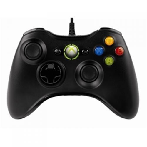 Microsoft Xbox 360 Controller für Windows (Schwarz) [@play.com]