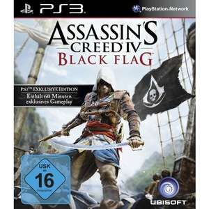 Assasin`s Creed IV PS3 - 40€ - im Müller onlineshop (in jeder Filiale abholbar)