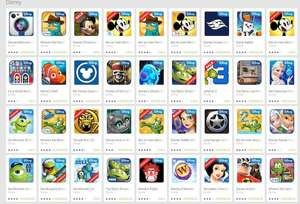 Play Store Disney Apps bis zu 75% reduziert
