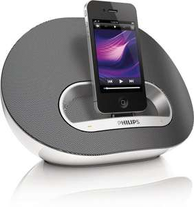 "Philips™ - iPod/iPhone Dockingsystem ""DS3120"" (12W RMS,Dock Connector) für €32,23 [@TheHut.com]"