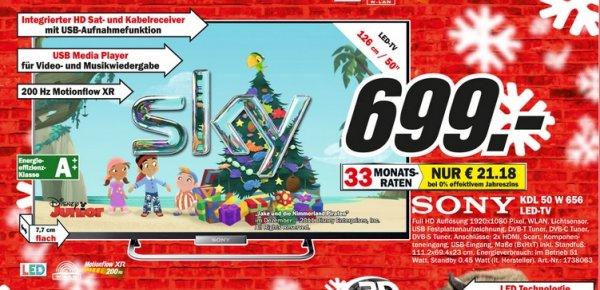 Sony KDL-50W656 699€ Lokal [Mediamarkt Bielefeld]