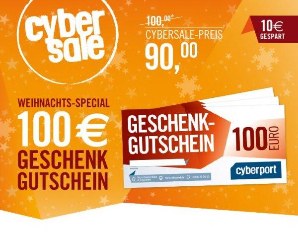Cyberport 100€ Gutschein für nur 90€