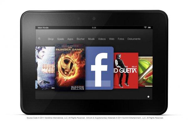 Kindle Fire HD 7 Zoll, 16 GB @Dealclub