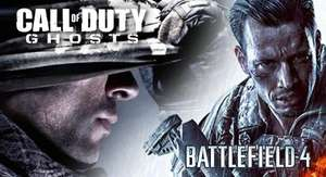 [STEAM] Battlefield 4 + Call of Duty Ghosts CLASH OF THE TITANS Bundle 54,49€