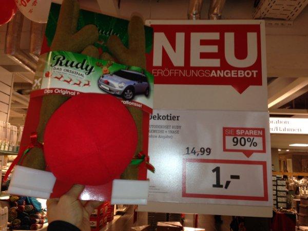 Auto Rudolph schmück Set