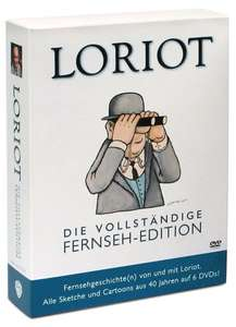 Loriot (Die vollständige Fernseh-Edition) & Harry Potter (The Complete Collection) für je 17,99€ @Amazon