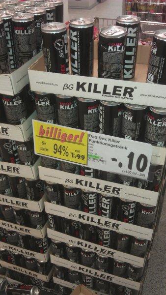 [Kaufland Augsburg] Energy Drink 10 Cent (94% Preisersparnis) zzgl. 0,25 Pfand