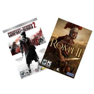 Company of Heroes 2 + Rome 2 Bundle (jeweils nur 12,73€)