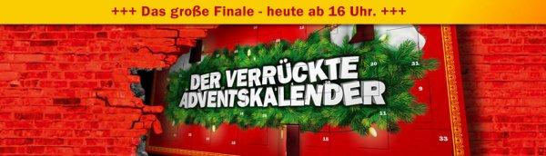 MediaMarkt.de Adventskalender Finale heute bereits ab 16.00 Uhr - z.B. diverse Steelbooks ab 5 EUR / alle Games aus der Aktion ab 5,00 EUR etc.
