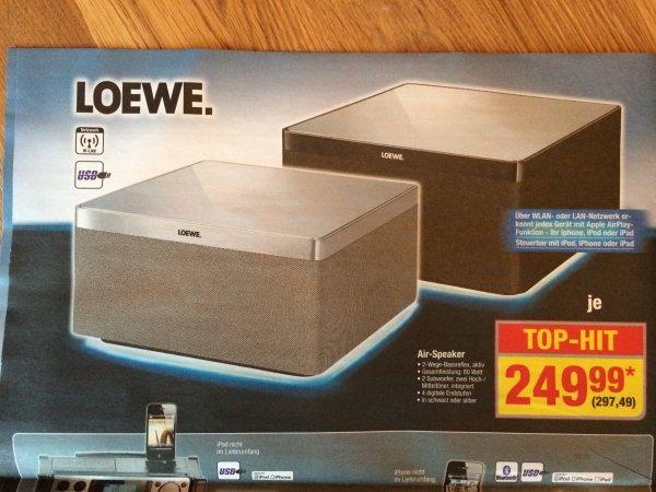 Loewe Air-Speaker für 297,49€ @Metro