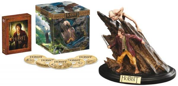 Der Hobbit: Eine unerwartete Reise - Extended Edition 3D/2D Sammleredition (5 Discs, inkl. WETA-Statue) [3D Blu-ray] für 59,97€