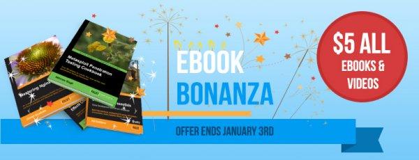 Packt Pub  Ebook Bonanza - Jedes Ebook/Video für 5$/3,65€ + Steuer bis 3.1.2014