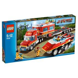 LEGO City, 4430 Mobile Feuerwehrzentrale für 24,95€ (29,90€ bei Lieferung) @ real.de
