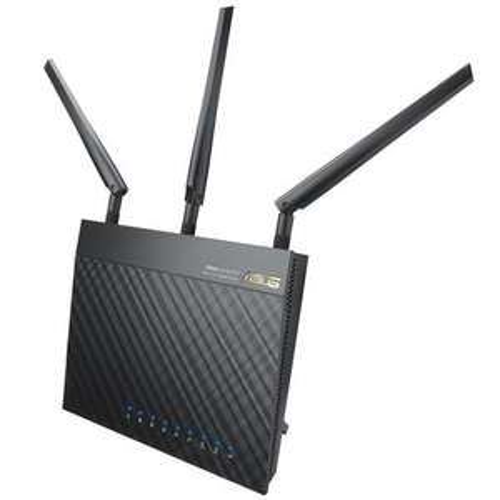 Asus RT-AC66U AC 1750 Black Diamond Dual Band WLAN AC Router 802.11 a/b/g/n/ac