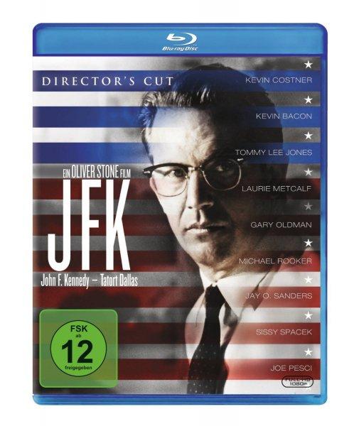 JFK - Tatort Dallas [Blu-ray] für 8€, mit Buch für 9€ inkl. Versand (Amazon)