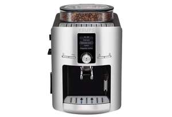Krups EA 8260 Espresso-Kaffee-Vollautomat aluminium/schwarz
