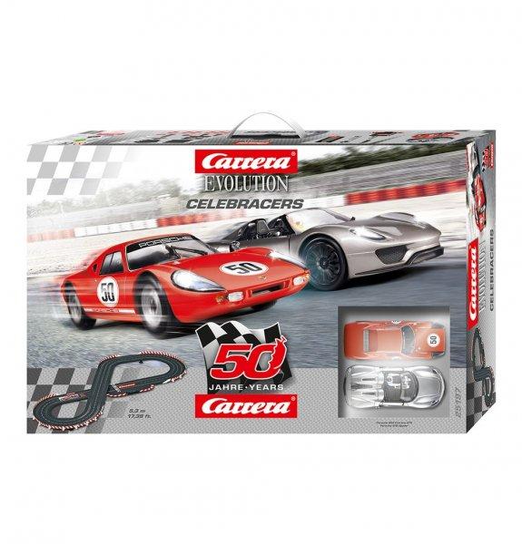 [Galeria Kaufhof] Carrera Evolution Celebracers- 50 Jahre Carrera 25197 (auch 63,86€ möglich);  weitere Carrera-Bahnen in der Beschreibung