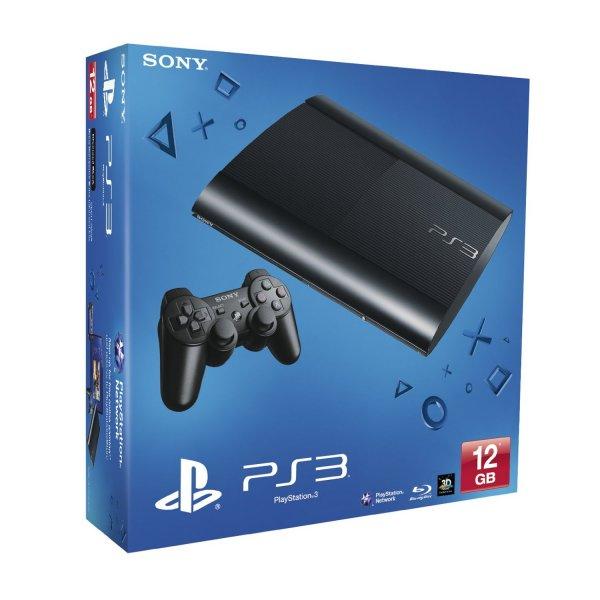 @Amzon.Co.UK PS3 Super Slim 12GB für  124€ inkl. Versand