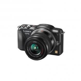 Panasonic Lumix DMC-GF5 Pancake-Powerzoom 14-42 mm