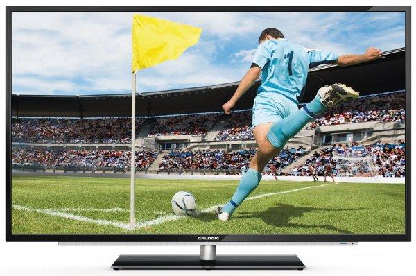 3D TV: Grundig 42 VLE 922 BL 107 cm (42 Zoll) 3D LED-Backlight-Fernseher, EEK A+ (Full HD, 200Hz PPR, DVB-C/-T/-S2, CI+, Smart Inter@ctive 2.0) hochglanz-schwarz [INKL. 2 3D-Brillen!] für 419,99