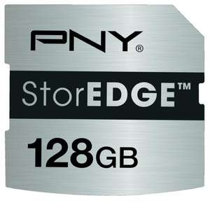 PNY StorEDGE 128GB SDXC für Macbook für 76€ @Amazon.com
