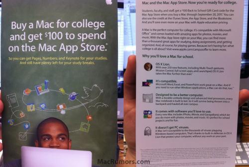 Macbook für 824,64€ / 100$ (75€)  Itunes Gutschein  für Schüler / Back to school