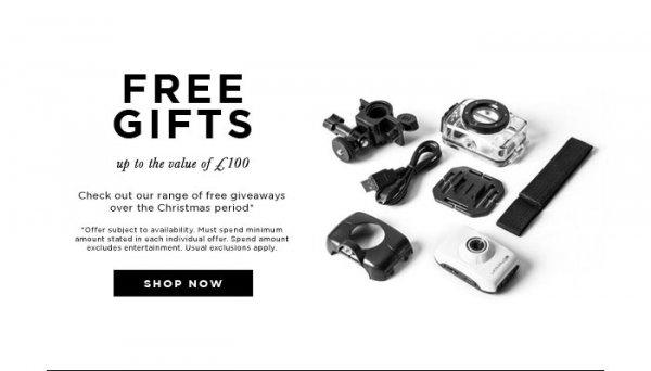 [TheHut.com] Gratis Artikel zu jeder Bestellung ab mindestens £15