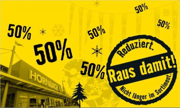 [Offline Bundesweit] Hornbach 50% auf Weihnachtsartikel