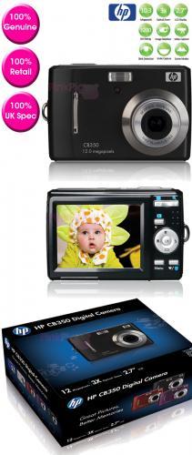 HP CB350 Digitalkamera 12,2MP (Black) [@HP-Store]