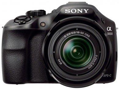 Sony Alpha 3000K (ILCE-3000K) incl. SEL1855 Objektiv @redcoon
