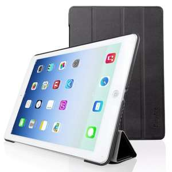 Nur heute: EasyAcc® Apple iPad Air Ultra Thin Leder hülle Tasche Smart Cover Flip Case Schutzhülle für 6,99 € inkl. VSK!!