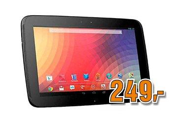 [Saturn Österreich] Google Nexus 10.1 GT-P8110 für 249€ - nur am 27.12. zwischen 6 und 9 Uhr